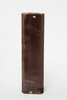 chimney pot, square sided, brown; CARDER BROS & C...