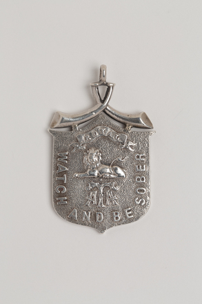 medal, membership, N2566, Photographed by Ben Abdale-Weir, 07 Feb 2017, © Auckland Museum CC BY