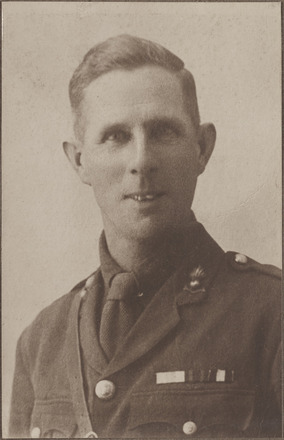 Captain F. J. Stallard - Military Cross. Archives New Zealand R24184413. Image has no known copyright restrictions.