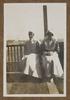 "Unknown, photographer, ""Sister C.B. Anderson and Holmwood""  in Colin M. Gordon album (1915-1918). Auckland War Memorial Museum - Tāmaki Paenga Hira  PH-ALB-376-p34-5."