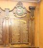 Ponsonby Lodge Onehunga Masonic Hall Roll of Honour, 1939-1945. Image provided by John Halpin 2014, CC BY John Halpin 2014