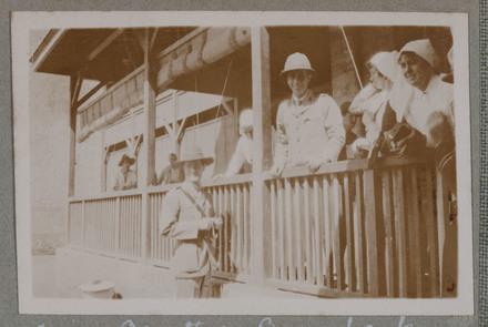 "Unknown, photographer (1915-1916). ""Major's Barnett & Bowerbank"". [Agnes (Peggy) Williams photograph album]. Auckland War Memorial Museum - Tāmaki Paenga Hira PH-2017-2-2-p26-3. No known copyright restrictions."