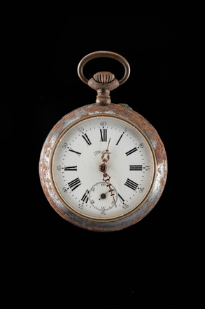 watch and case, H252, Photographed by Jennifer Carol, 20 Oct 0207, © Auckland Museum CC BY