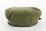 army green wool beret Belonged to Lt Cdr Edna M Ga...