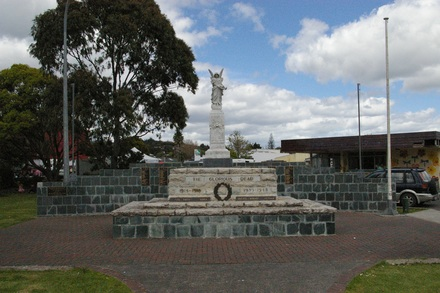 Kaitaia First World War Memorial, Melba Street, Kaitaia. Image provided by John Halpin 2012, CC BY John Halpin 2012