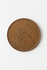 one penny, 1941 bronze coin; plain edge; diameter:...