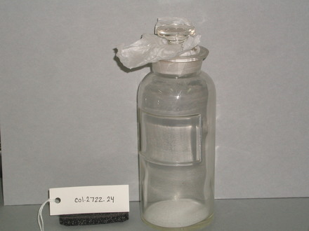 bottle and stopper [col.2722.24] front view