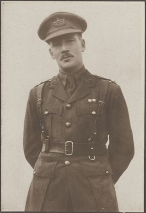 Portrait of Lieutenant Roy James Fitzgerald, Archives New Zealand, R24183994. Image may be subject to copyright restrictions.