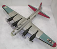 Model airplane, silver. Some parts broken. '297503...