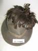 hat - Italian with plummage (khaki wool)