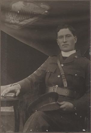 Portrait of Captain Patrick Dore, Archives New Zealand, AALZ 25044 5 / F1852 66. Image is subject to copyright restrictions.