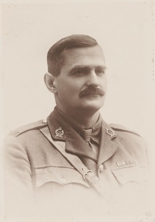 Portrait of Lieutenant Colonel Conrad Gordon Saxby, Archives New Zealand, AALZ 25044 3 / F1376 15. Image is subject to copyright restrictions.