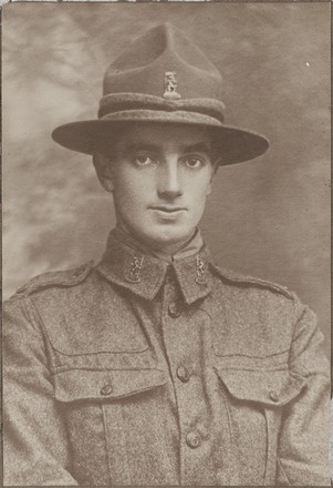 Portrait of Private W.F. Ansin - Military Medal. Archives New Zealand, R24184159, Image may be subject to copyright restriction.