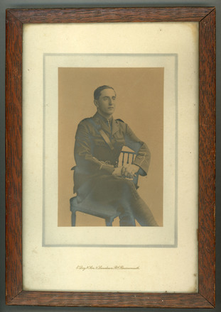 Portrait of John Wesley Cobb. Date unkown. Image kindly provided by Jocelyn Henry (October 2018). Image has no known copyright restrictions.