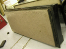 case, display (base and glass panels), 5 x glass p...