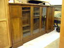 display cabinet/bookcase, oak