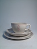 cup (.1), Saucer (.2) and plate (.3)