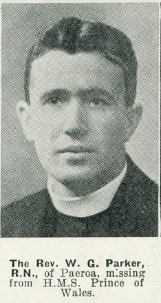 Portrait of The Reverend Wilfred Graham Parker, Auckland Weekly News, 7 January 1942. Sir George Grey Special Collections, Auckland Libraries, AWNS-19420107-29-2. Image has no known copyright restrictions.