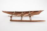 canoe, model.