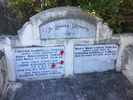 Photograph of Stephen John Cowles headstone at Karori Cemetery, Wellington. Image kindly provided by Bernice Brooks (July 2019). Image may be subject to copyright restrictions.