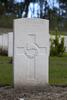 Headstone of Gunner Joshua Thomas Cuff (2/382). Coxyde Military Cemetery, Koksijde, West-Vlaanderen, Belgium. New Zealand War Graves Trust (BEAX6934). CC BY-NC-ND 4.0.