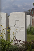 Headstone of Private Clifford Roy Anderson (43935). Nine Elms British Cemetery, Poperinge, West-Vlaanderen, Belgium. New Zealand War Graves Trust (BEDA9491). CC BY-NC-ND 4.0.