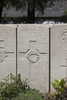 Headstone of Gunner Leonard A'Court (43588). Lijssenthoek Military Cemetery, Poperinge, West-Vlaanderen, Belgium. New Zealand War Graves Trust (BECL9854). CC BY-NC-ND 4.0.