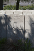 Headstone of Corporal Matthew Absalom (14043). Lijssenthoek Military Cemetery, Poperinge, West-Vlaanderen, Belgium. New Zealand War Graves Trust (BECL0042). CC BY-NC-ND 4.0.