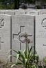 Headstone of Rifleman John Tantrum (24/1494). Lijssenthoek Military Cemetery, Poperinge, West-Vlaanderen, Belgium. New Zealand War Graves Trust (BECL9767). CC BY-NC-ND 4.0.