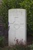 Headstone of Lieutenant Benjamin Mollison (25/30). The Huts Cemetery, Ieper, West-Vlaanderen, Belgium. New Zealand War Graves Trust (BEEE1354). CC BY-NC-ND 4.0.