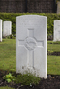 Headstone of Rifleman Walter Causer (21492). Strand Military Cemetery, Comines-Warneton, Hainaut, Belgium. New Zealand War Graves Trust (BEEB7210). CC BY-NC-ND 4.0.