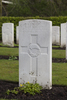 Headstone of Rifleman Russell Harvey Knapp (10960). Strand Military Cemetery, Comines-Warneton, Hainaut, Belgium. New Zealand War Graves Trust (BEEB7205). CC BY-NC-ND 4.0.