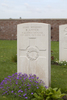 Headstone of Rifleman Robert Amner (28411). La Plus Douve Farm Cemetery, Comines-Warneton, Hainaut, Belgium, Belgium. New Zealand War Graves Trust (BECF0424). CC BY-NC-ND 4.0.
