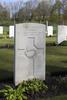 Headstone of Private Edmond Amos (15460). Underhill Farm Cemetery, Comines-Warneton, Hainaut, Belgium. New Zealand War Graves Trust (BEEI7499). CC BY-NC-ND 4.0.