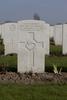 Headstone of Private Malcolm Stewart McClymont (22065). Lindenhoek Chalet Military Cemetery, Heuvelland, West-Vlaanderen, Belgium. New Zealand War Graves Trust (BECM5861). CC BY-NC-ND 4.0.