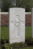 Headstone of Rifleman Frederick Alley (25/1196). Aeroplane Cemetery, Ieper, West-Vlaanderen, Belgium. New Zealand War Graves Trust (BEAC8100). CC BY-NC-ND 4.0.