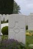 Headstone of Lance Corporal Herbert James Allison (25426). New Irish Farm Cemetery, Ieper, West-Vlaanderen, Belgium. New Zealand War Graves Trust (BECY0610). CC BY-NC-ND 4.0.
