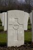 Headstone of Private Eric Douglas Alexander (10/3824). Hooge Crater Cemetery, Ieper, West-Vlaanderen, Belgium. New Zealand War Graves Trust (BEBS6711). CC BY-NC-ND 4.0.