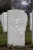 Headstone of Private Alexander Dewar (15148). Hooge Crater Cemetery, Ieper, West-Vlaanderen, Belgium. New Zealand War Graves Trust (BEBS6798). CC BY-NC-ND 4.0.