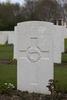 Headstone of Private John Thomas Gibson (49887). Hooge Crater Cemetery, Ieper, West-Vlaanderen, Belgium. New Zealand War Graves Trust (BEBS6752). CC BY-NC-ND 4.0.
