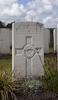 Headstone of Corporal Percy Cyril Ricketts (21735). Passchendaele New British Cemetery, Zonnebeke, West-Vlaanderen, Belgium. New Zealand War Graves Trust (BEDF9072). CC BY-NC-ND 4.0.
