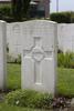 Headstone of Rifleman Joseph Patrick McGovern (54565). Tyne Cot Cemetery, Zonnebeke, West-Vlaanderen, Belgium. New Zealand War Graves Trust (BEEG2043). CC BY-NC-ND 4.0.