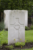 Headstone of Private Leonard Herbert Sowry (32242). London Rifle Brigade Cemetery, Comines-Warneton, Hainaut, Belgium. New Zealand War Graves Trust (BECO1207). CC BY-NC-ND 4.0.