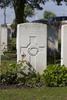 Headstone of Private Cecil Arthur Amos (38254). Poelcapelle British Cemetery, Langemark-Poelkapelle, West-Vlaanderen, Belgium. New Zealand War Graves Trust (BEDJ8882). CC BY-NC-ND 4.0.
