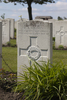 Headstone of Private Edward Albert Mason (24389). Poelcapelle British Cemetery, Langemark-Poelkapelle, West-Vlaanderen, Belgium. New Zealand War Graves Trust (BEDJ8921). CC BY-NC-ND 4.0.