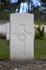 Headstone of Gunner Joshua Thomas Cuff (2/382). Coxyde Military Cemetery, Koksijde, West-Vlaanderen, Belgium. New Zealand War Graves Trust (BEAX6935). CC BY-NC-ND 4.0.