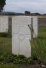 Headstone of Sergeant James Edward Carmichael (2/402). Divisional Cemetery, Ieper, West-Vlaanderen, Belgium. New Zealand War Graves Trust (BEAZ1081). CC BY-NC-ND 4.0.