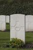 Headstone of Rifleman William Nicholson (23419). Berks Cemetery Extension, Comines-Warneton, Hainaut, Belgium. New Zealand War Graves Trust (BEAK7088). CC BY-NC-ND 4.0.