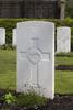 Headstone of Rifleman Walter Causer (21492). Strand Military Cemetery, Comines-Warneton, Hainaut, Belgium. New Zealand War Graves Trust (BEEB7211). CC BY-NC-ND 4.0.