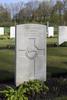 Headstone of Private Edmond Amos (15460). Underhill Farm Cemetery, Comines-Warneton, Hainaut, Belgium. New Zealand War Graves Trust (BEEI7500). CC BY-NC-ND 4.0.